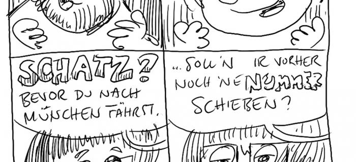 Comicfestival München – Tag davor