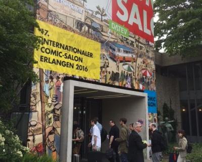 Comicsalon Erlangen 2016