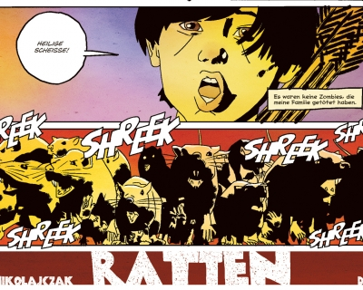 Ratten (oder: Die Entstehung eines Horror-Comics)